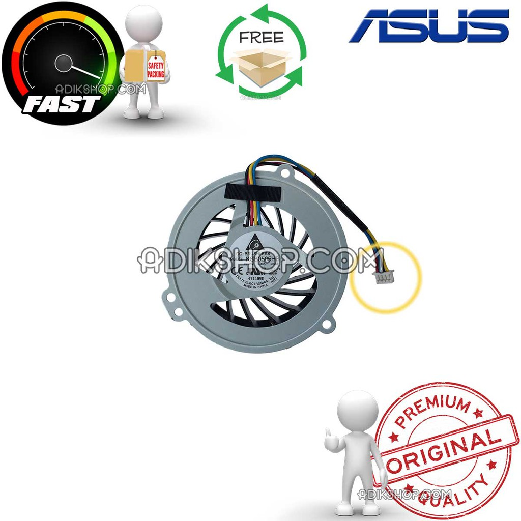 Stok Terbatas Fan Kipas Processor Laptop Asus A42 A42j A42jr K42 Cooling A40 A40j K42j X42 Series Shopee Indonesia
