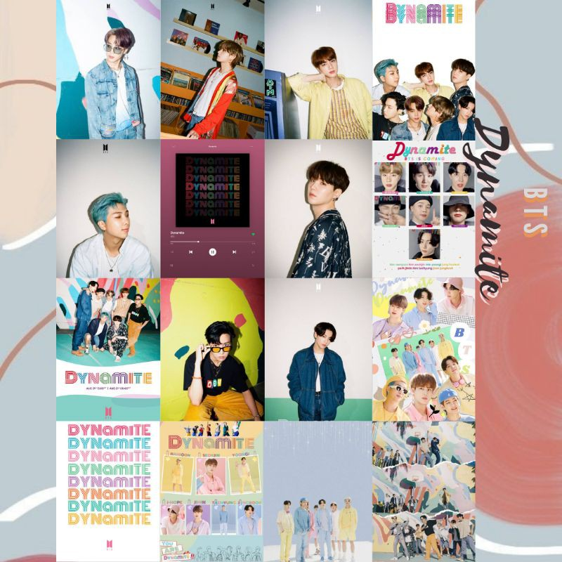 16 Pcs Poster Bts Poster Aesthetic Poster Kpop Wall Poster Wallcollage Shopee Indonesia