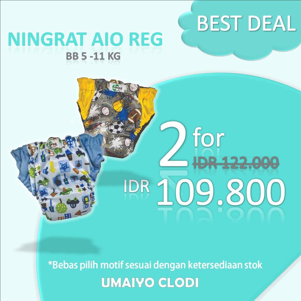Clodi Klodiz Newborn Cover Cloth Diaper Popok Kain Grosir Minikinizz Izzy Eco  Motif 6 Murah Shopee Indonesia