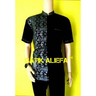 ... Kemeja Hem Batik Pria Prodo Kerah Koko Ramadhan Trand Fashion Pekalongan  Eksekutive. suka  33 3ac327db48