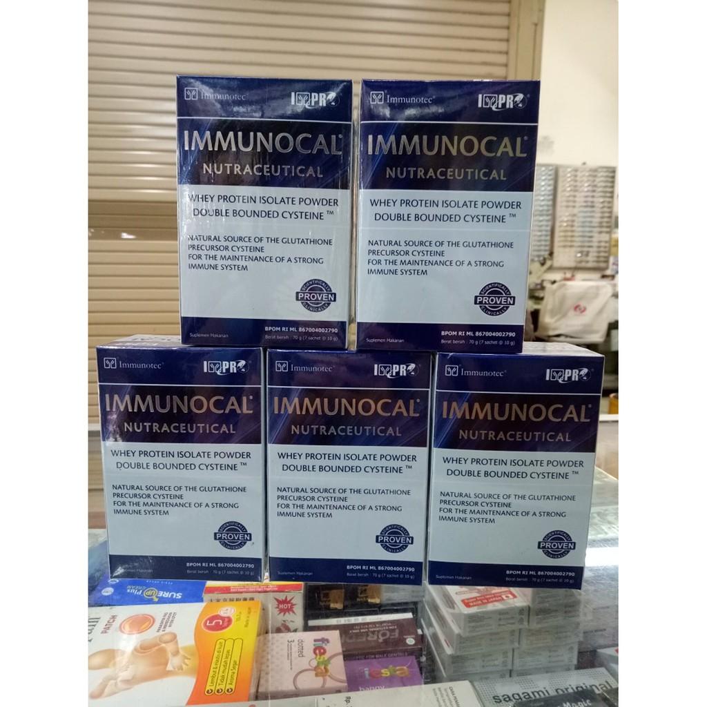 Susu Immunocal Original Nutraceutical 7 Sachet Daftar Harga Best Pro International Immunotec Desain Baru Gluthathione Daya Tahan Tubuh Immune System Asli Termurah