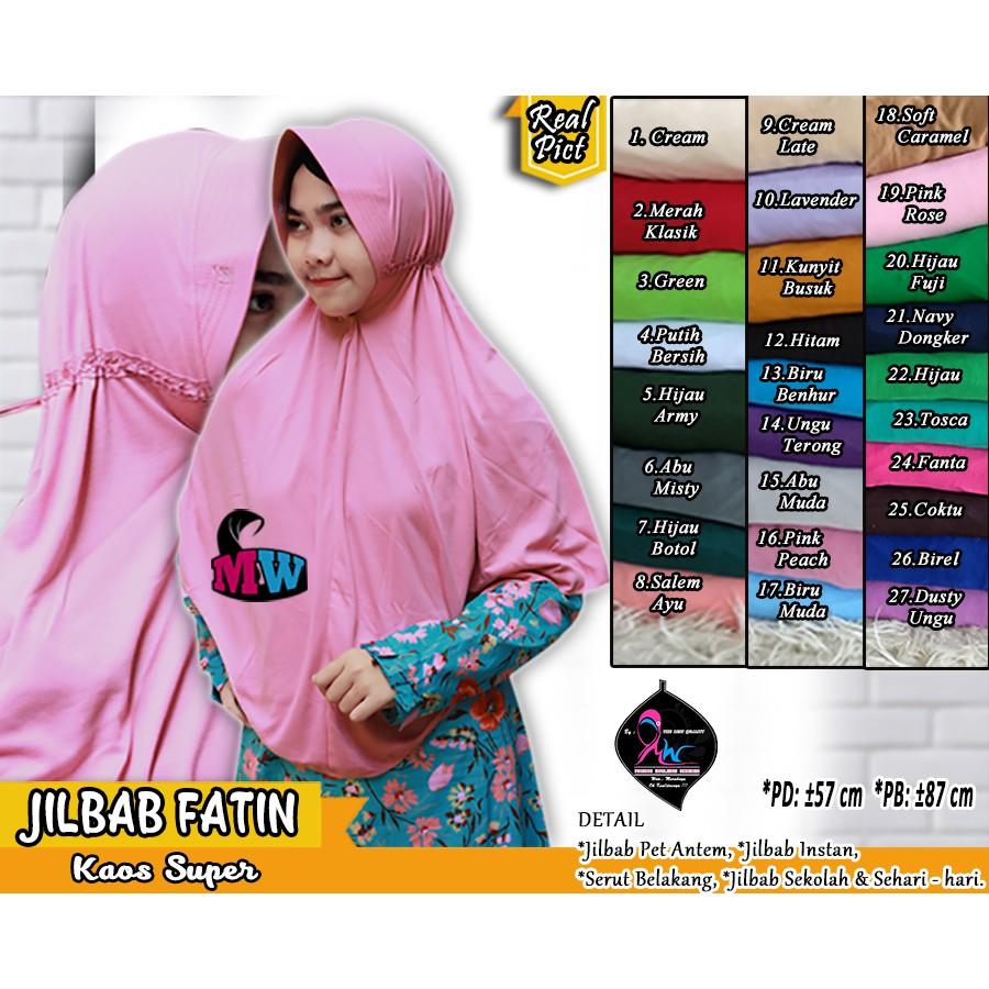 Kerudung Sma Instan Serut Pita Ziril Bergo Rabbani Jilbab Hijab Aisyah Khimar Anak Sekolah Shopee Indonesia