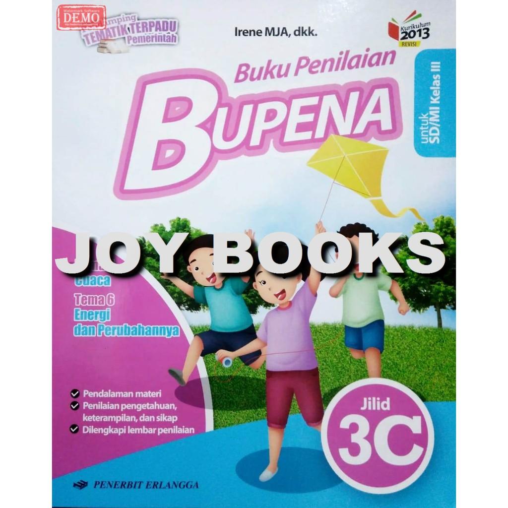 Bupena 3a 3b 3c 3d Erlangga Buku Latihan Soal Tematik Sd Kelas 3 Erlangga Shopee Indonesia