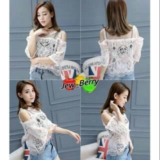 308985781cd9e Mattie Top   Atasan Brokat   Blouse   Baju Import   BKK   Baju Murah    Summer Collections