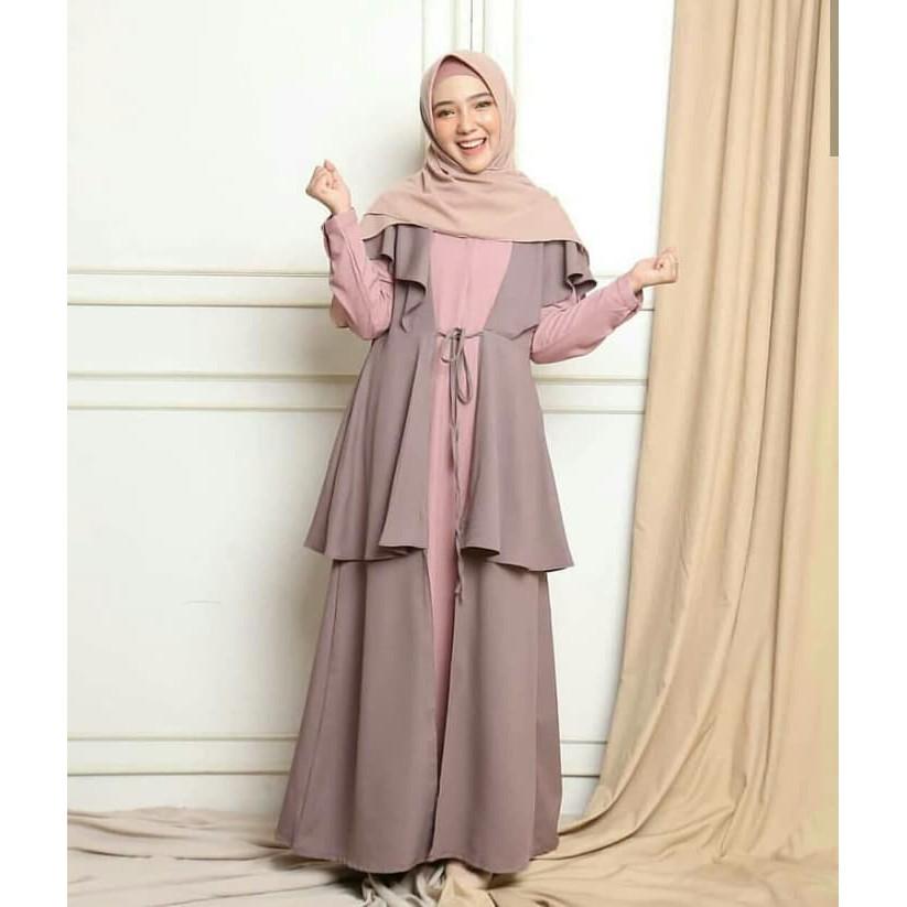 Morza Maxi Dress Muslimah Termurahdistributor Gamis Shopee Indonesia
