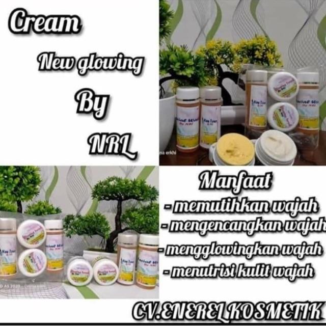 Cream Nrl Glowing Original Shopee Indonesia