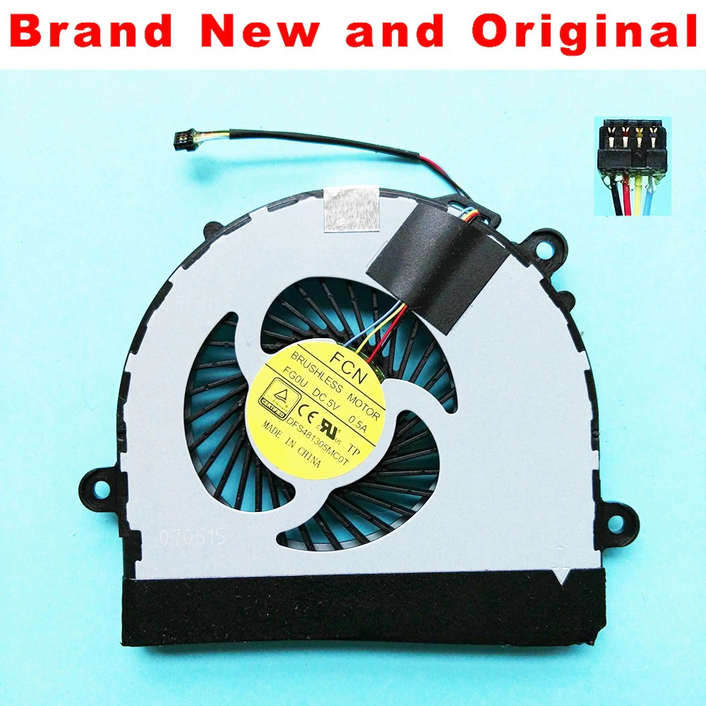 Replacement Laptop CPU Cooling Fan For Lenovo Ideapad S210 DFS481305MC0T