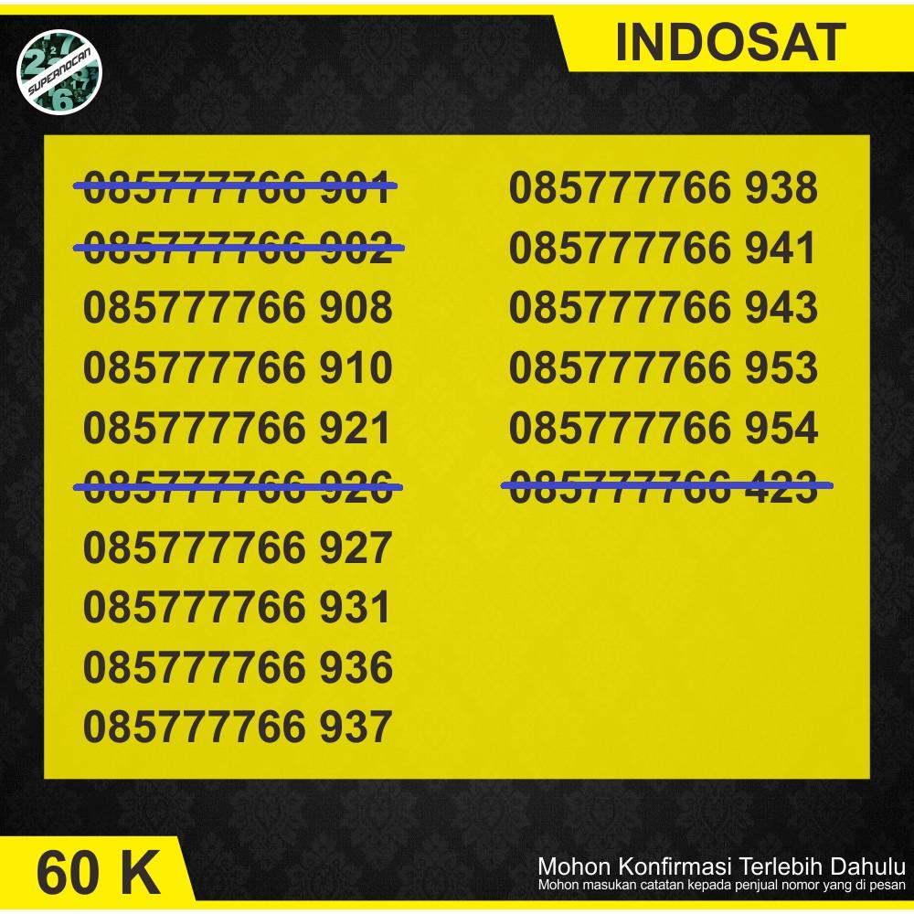 Nomor Cantik indosat ooredoo cantik im3 cantik 4g lte 9999 | Shopee Indonesia