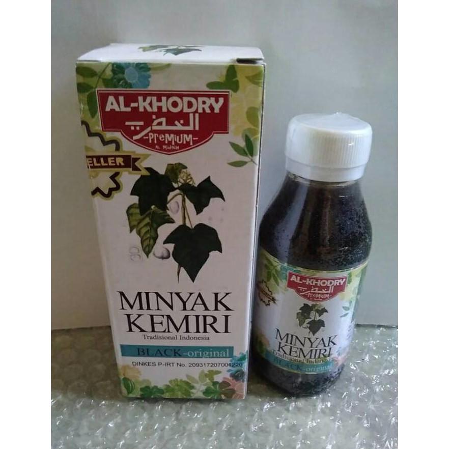 Minyak Kemiri Al Khodry Asli Herbal Penyubur Penumbuh Rambut Ampuh | Shopee Indonesia