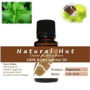 30ml Peppermint Essential Oil / Minyak Daun Mint 100% Murni | Shopee Indonesia