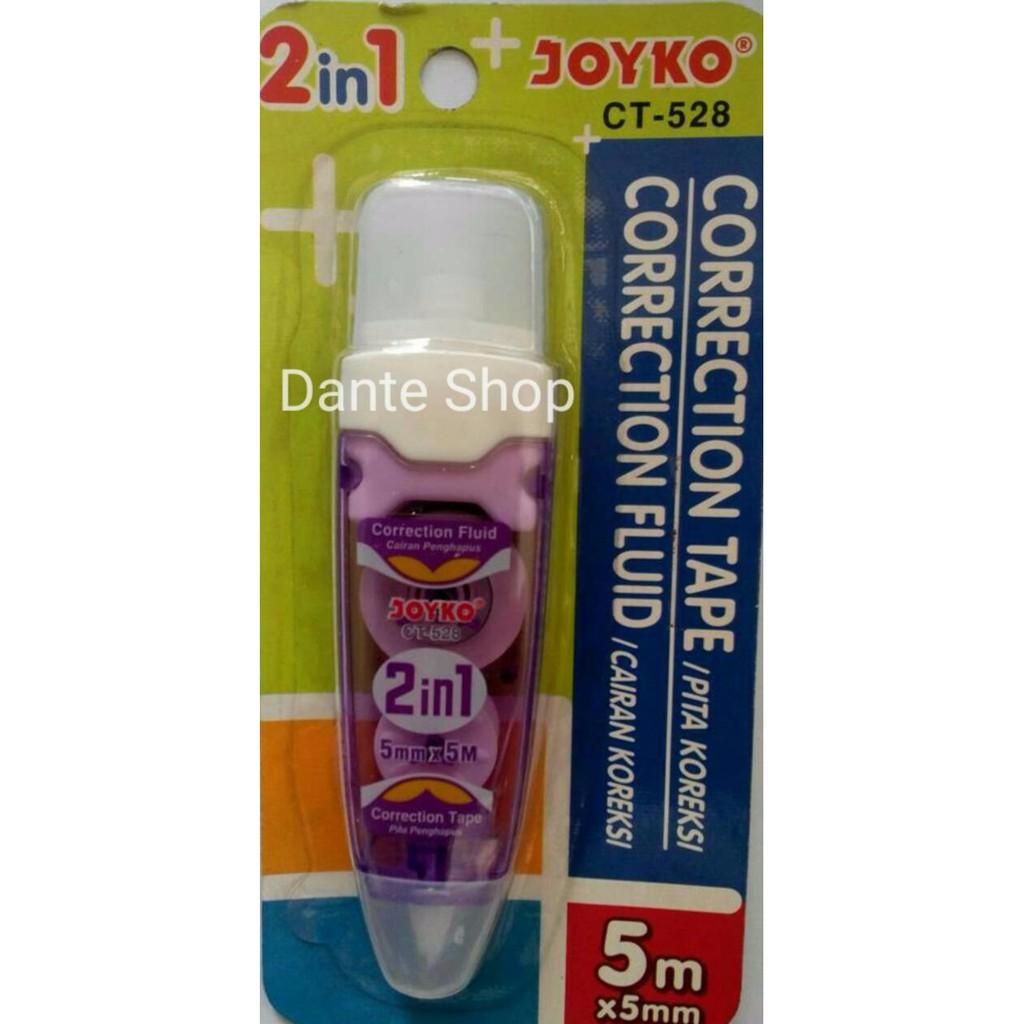 Correction Tape / Tip-ex Kertas 21m x 5mm Joyko CT-533 | Shopee