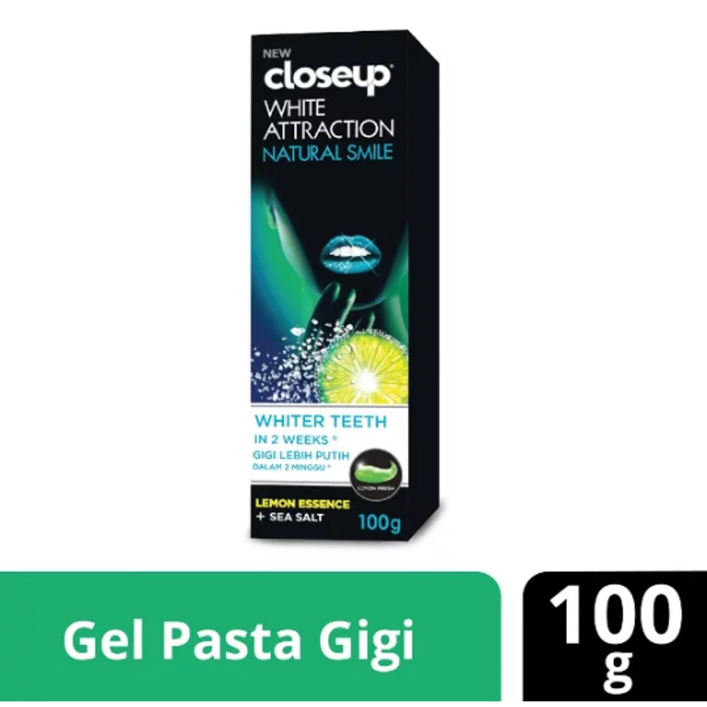 Close Up Pasta Gigi Diamond Attraction Power White 100gr  d67faa5b38