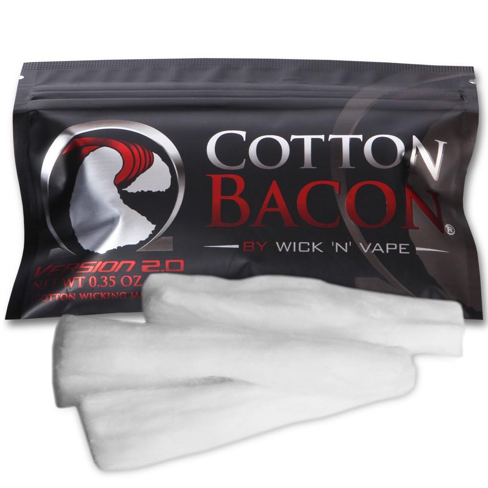 Authentic ORGANIC COTTON BACON PRIME BY WICK N VAPE Kapas Vape Vapor | Shopee Indonesia