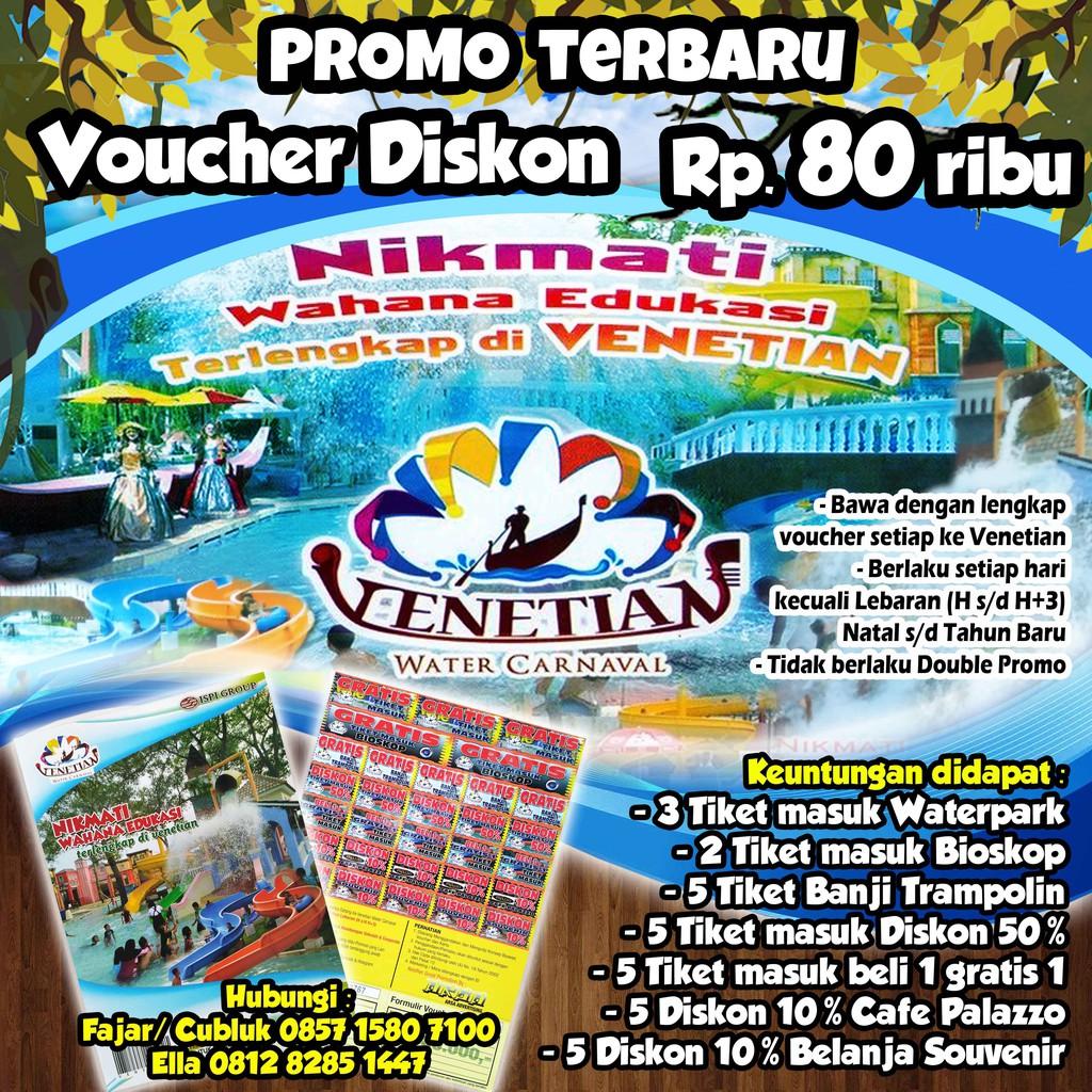 Voucher Tiket Waterboom Lippo Cikarang Shopee Indonesia