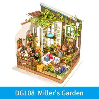 Robotime Diy Wooden Miniature Dollhouse