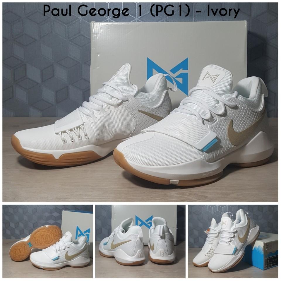 Sepatu Basket Paul George 1 (PG1) Ivory  3289331a716f