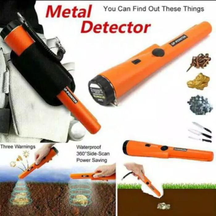 Pendeteksi | Metal Detektor Alat Deteksi Gp Pointer Emas Logam Perak