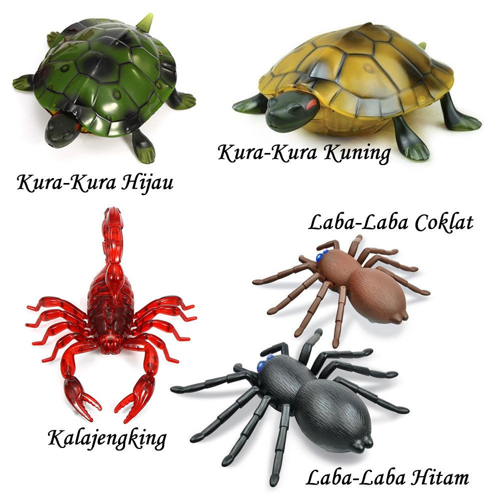 RC Crab Scorpion Turtle Spider