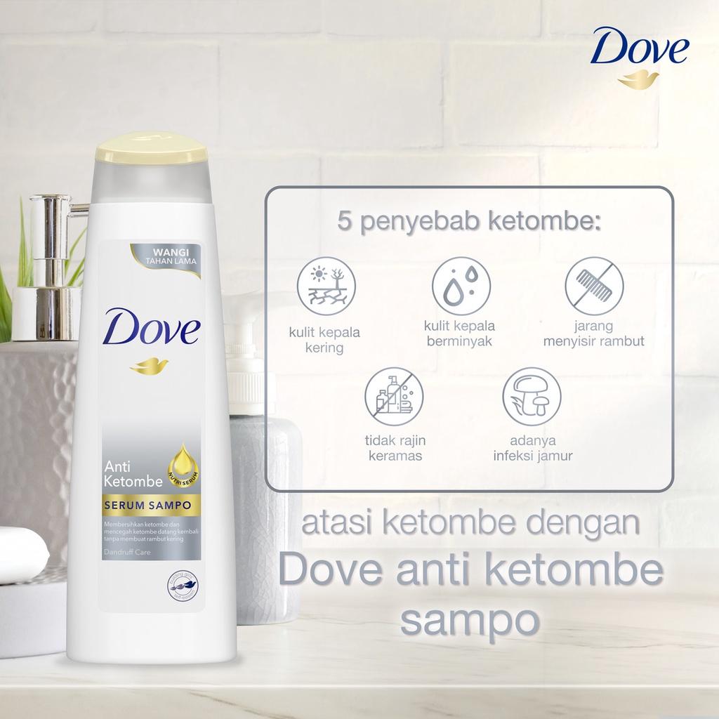Dove Shampo Anti Ketombe 135 ML-5