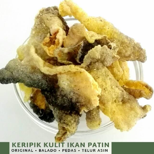Keripik Kulit Ikan Patin Tanpa Tepung 55 Gr Ochi Snack Keto Friendly Shopee Indonesia
