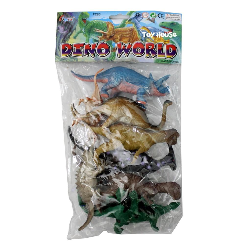 Mainan Dinosaurus Karet Besar Dino World Shopee Indonesia Figure