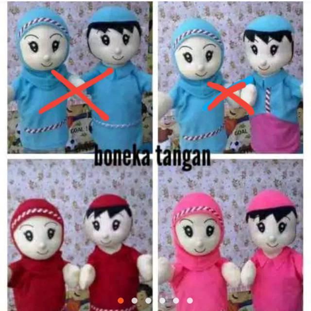 Boneka Tangan Karakter   Boneka Tangan Family   Boneka Tangan Anak   Boneka  Tangan Keluarga Muslim 1fb1dbb7f9