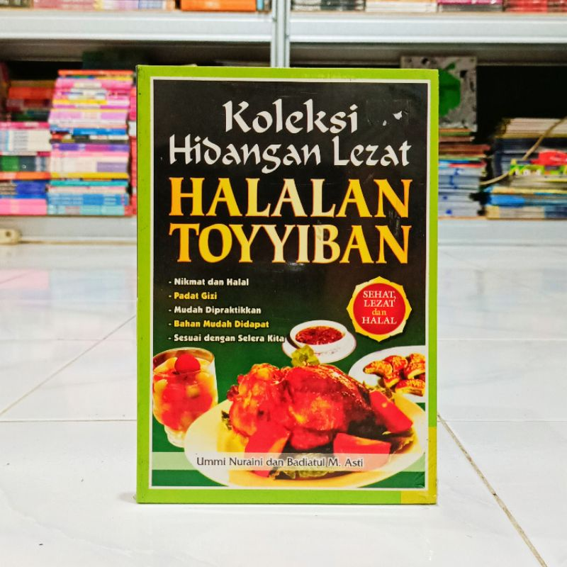 buku koleksi hidangan lezat Halalan toyyiban _ ummi
