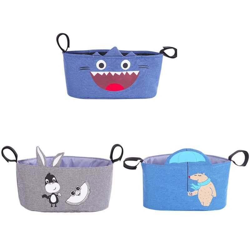 Storage Large Space Trolley Hooks Hanging Bags
