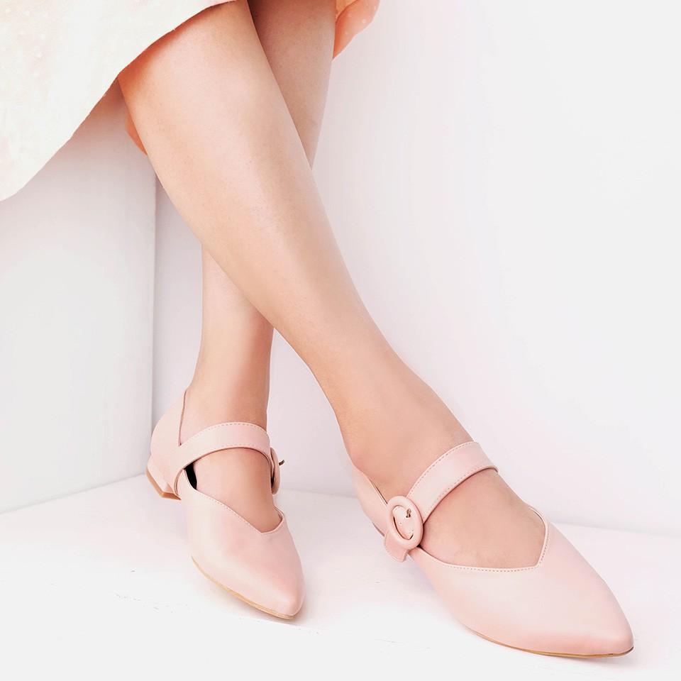 Amazara Evelyn Pink Sneakers Shopee Indonesia White Putih 38