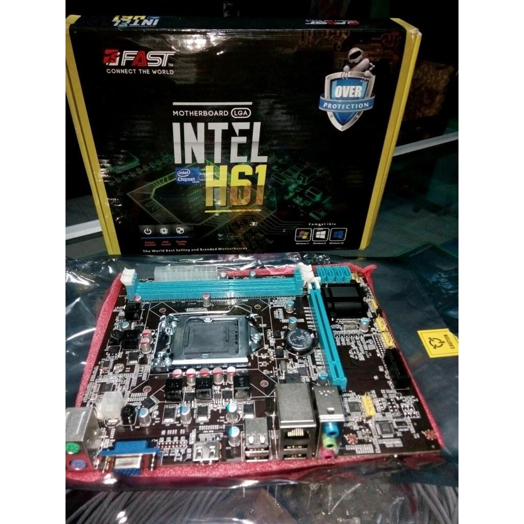 Perbandingan harga Motherboard H61 HDMI Support i3 i5 i7