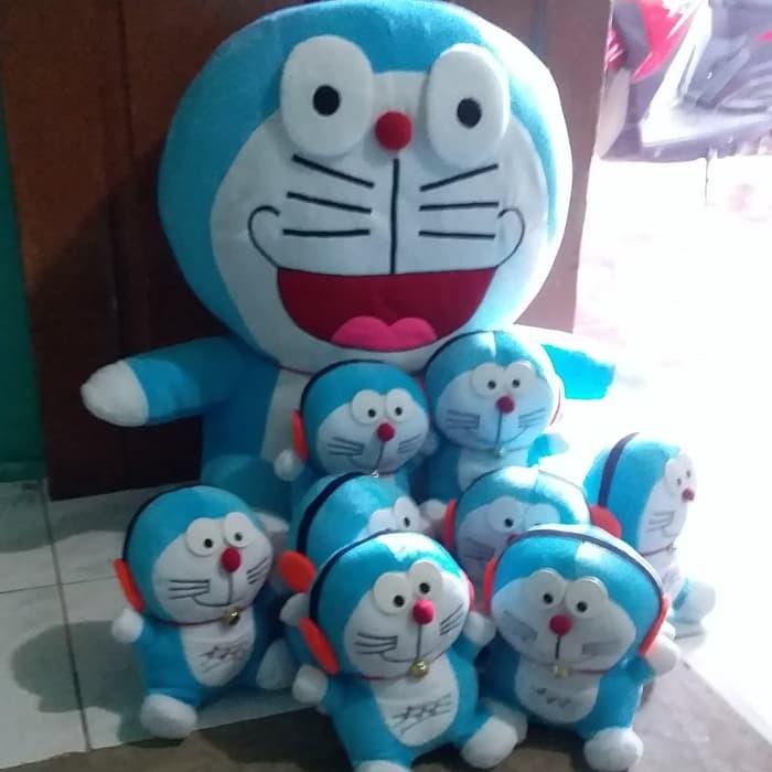 Boneka Doraemon Jumbo Beranak Isi 9 Pcs Shopee Indonesia