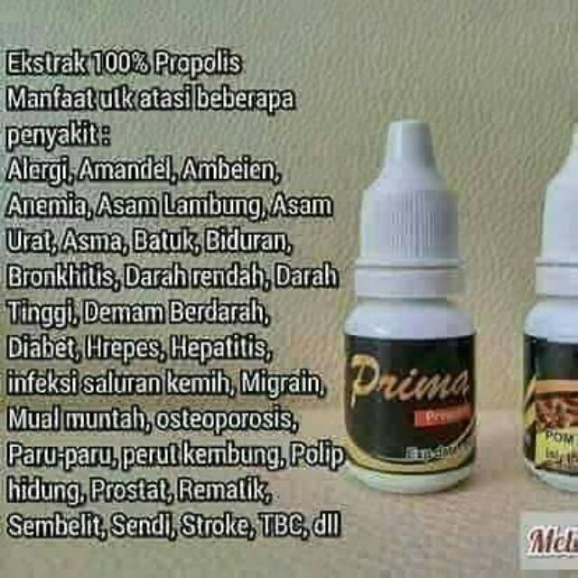Kegunaan propolis untuk diabetes insípida