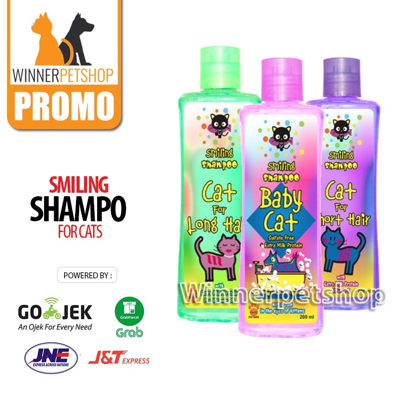 Shampoo Kucing - Smiling Baby Cat 200ml - Smiling Cat Shampoo