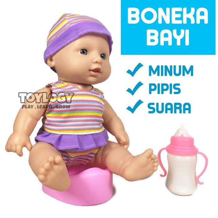 Boneka Bayi Tertawa Menyanyi Menangis Pipis Pup Baby Lovely Doll Defecation  Doll  94fdfc62e0
