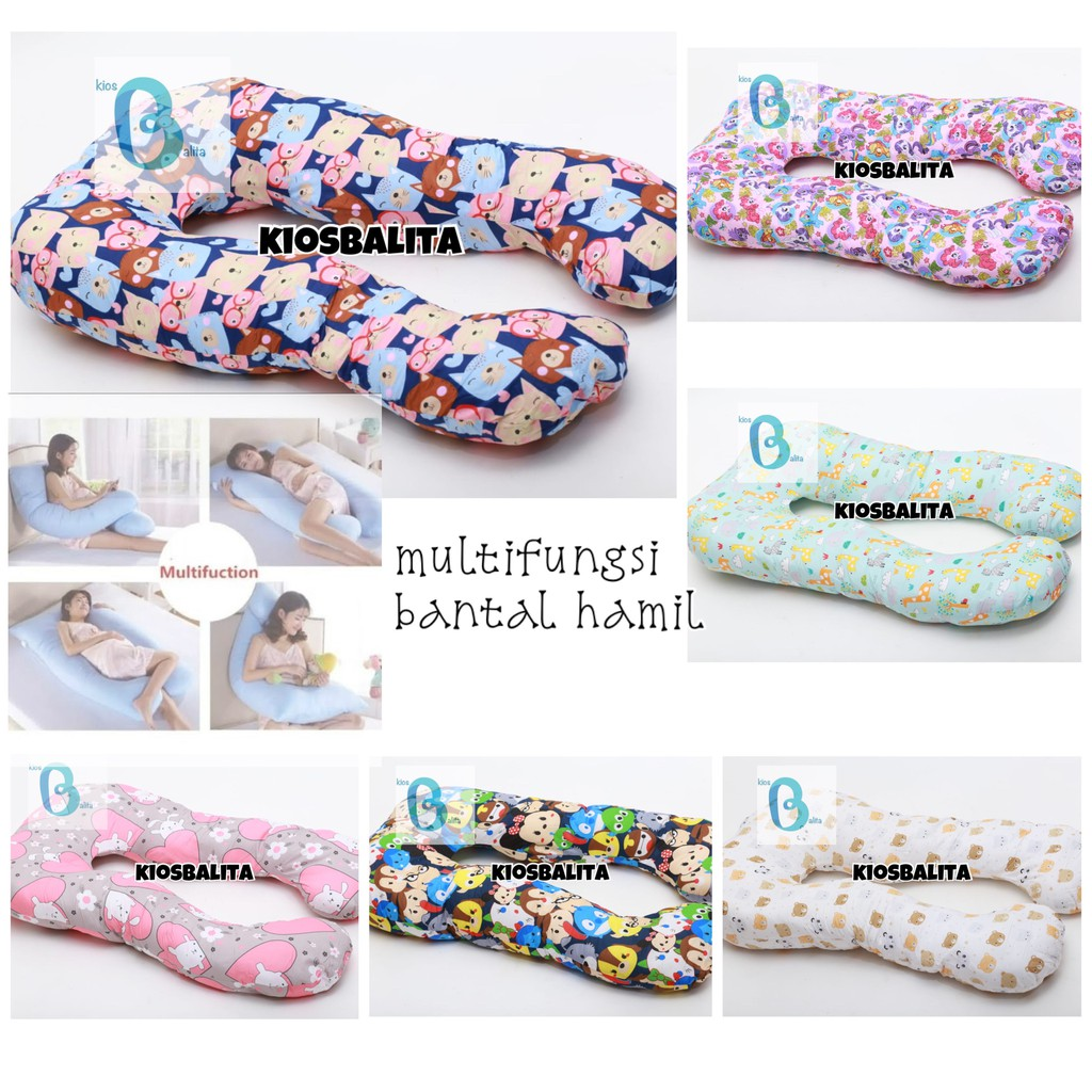 bantal hamil bantal bumil perlengkapan ibu hamil  bantal