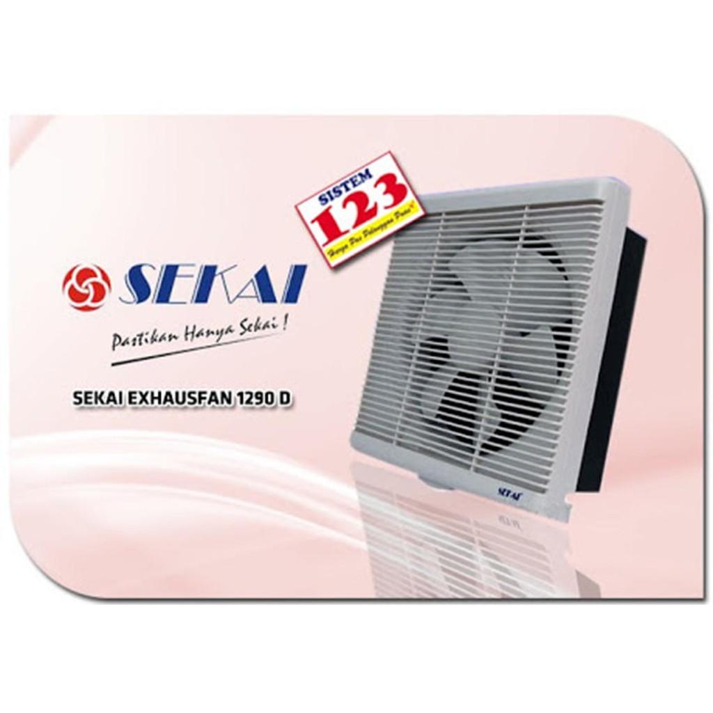 Exhaust Fan Ceiling Plafon 8 Inch Sekai Mvf 893 Harga Terbaik Kipas Angin Ventilating 1091 Shopee Indonesia