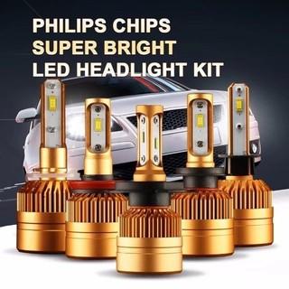 Lampu Depan Led 300w 30000lm C6 H4 H1 H3 Untuk Mobil Offroad Shopee Indonesia