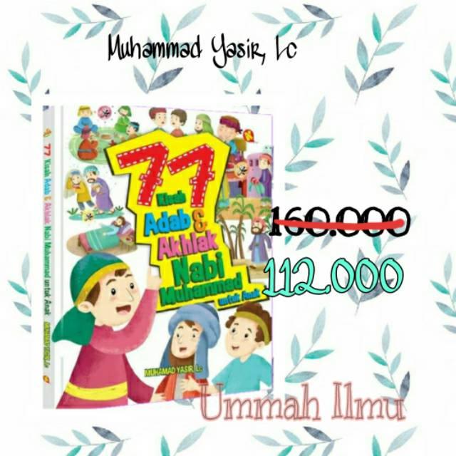 77 Adab Akhlak Nabi Muhammad