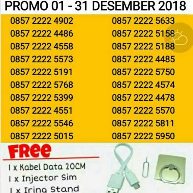 SERI TRIPLE INDOSAT IM3 OOREDOO 4G Kartu Perdana Nomor Cantik Nomer Nocan Murah   Shopee Indonesia