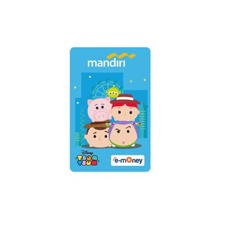 Mandiri E-money Tsum-Tsum Toy Story