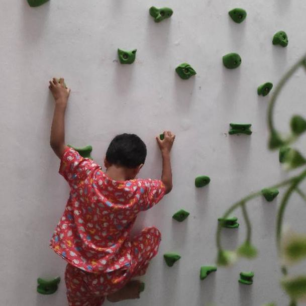 Poin Panjat Tebing Point Panjat Climbing Holds Poin Boulder Papan Panjat Wall Climbing Ko Shopee Indonesia