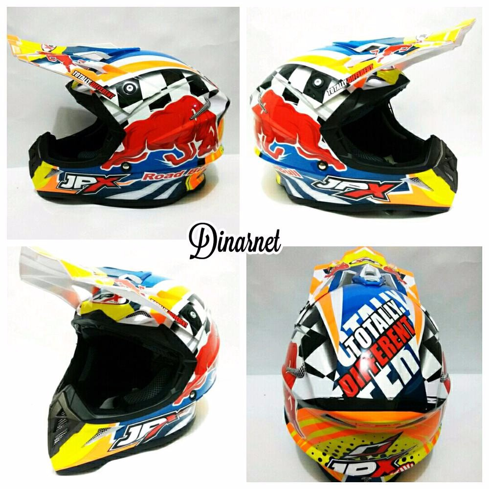 Helm Cross Jpx Fox1 Full Face Standar Sni Trail Motocross Trabas Klx Cargloss Mxc Supertrack Red Yellow Sp Whity White Putih Size L X6 Respect Blue Shopee Indonesia