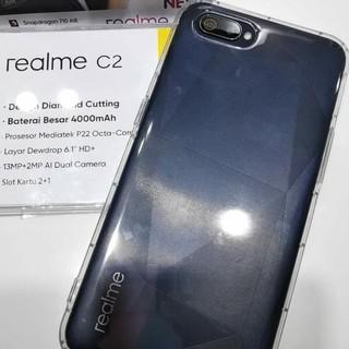 Casing Oppo Realme 3 Pro C2 Phone Case Magnetic Magnet Metal Frame