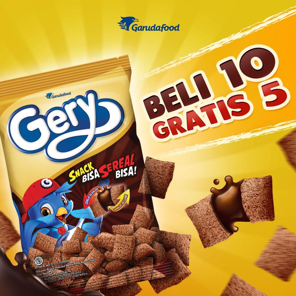 Gery Snack Sereal Pilo5 Isi 10 Pcs Free 5 Shopee Indonesia Nestum Bubur Multigrain 3in1 Polybag 4 X 32g Susu 2