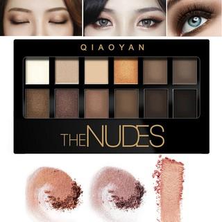 QIAOYAN-Nudes-Earth-Makeup-Eyeshadow-Palette-12-Colors-