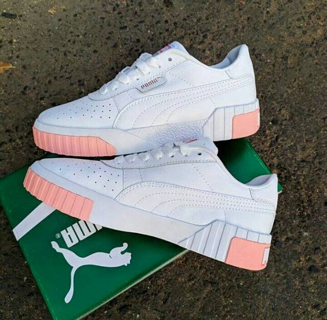 limpid in sight great deals 2017 buying now SEPATU PUMA CALI WHITE PINK