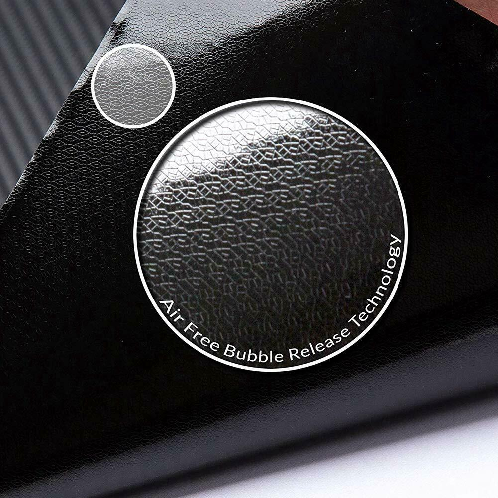 For Tesla Model 3 Center Console Inner Cover Sticker Vinyl Wrap Kit Carbon Fiber