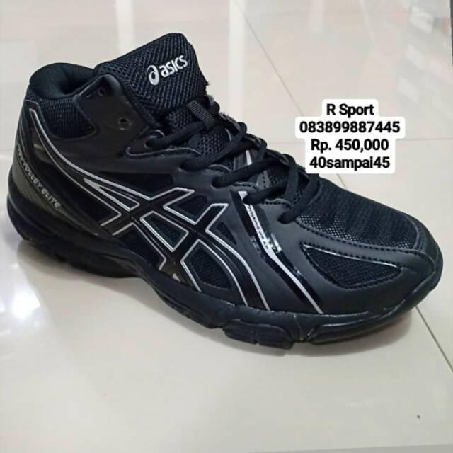 Sepatu volly asics Gel-Volley Elite putih  d051131d4d