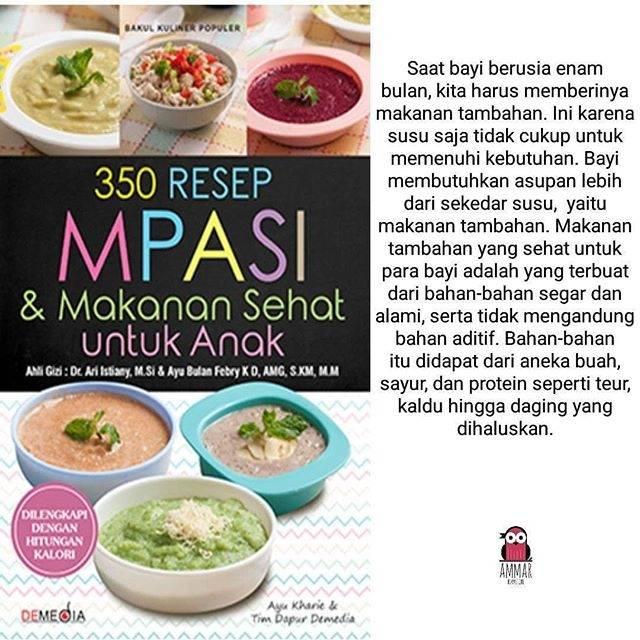 350 Resep Mpasi Dan Makanan Sehat Untuk Anak Shopee Indonesia