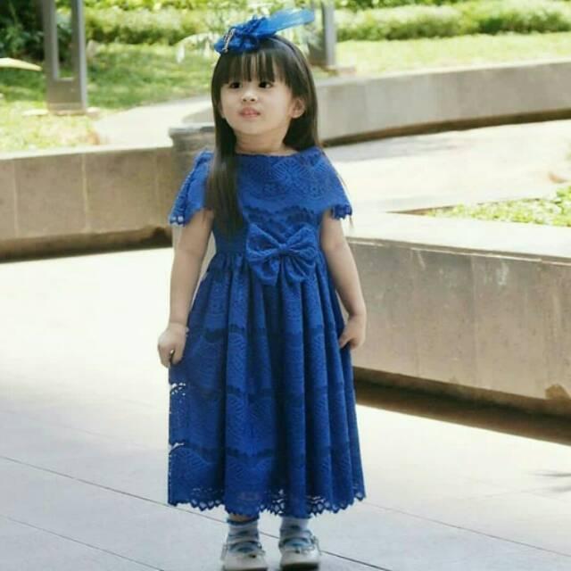 85 Gaya Baju Brokat Untuk Anak Paling Unik